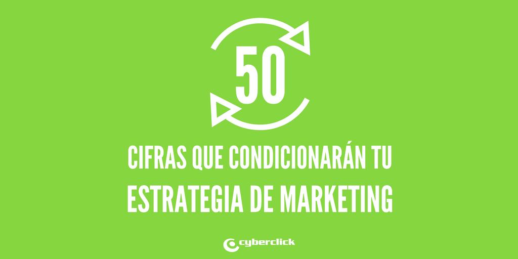 50 datos y tendencias que condicionarAn tu estrategia de marketing digital