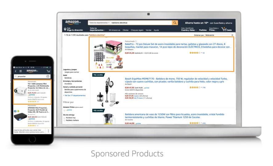 Amazon Advertising - Anuncios Patrocinados