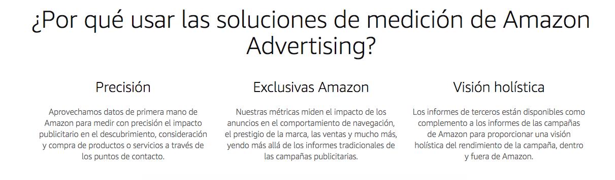 Amazon Advertising - Herramientas de medición