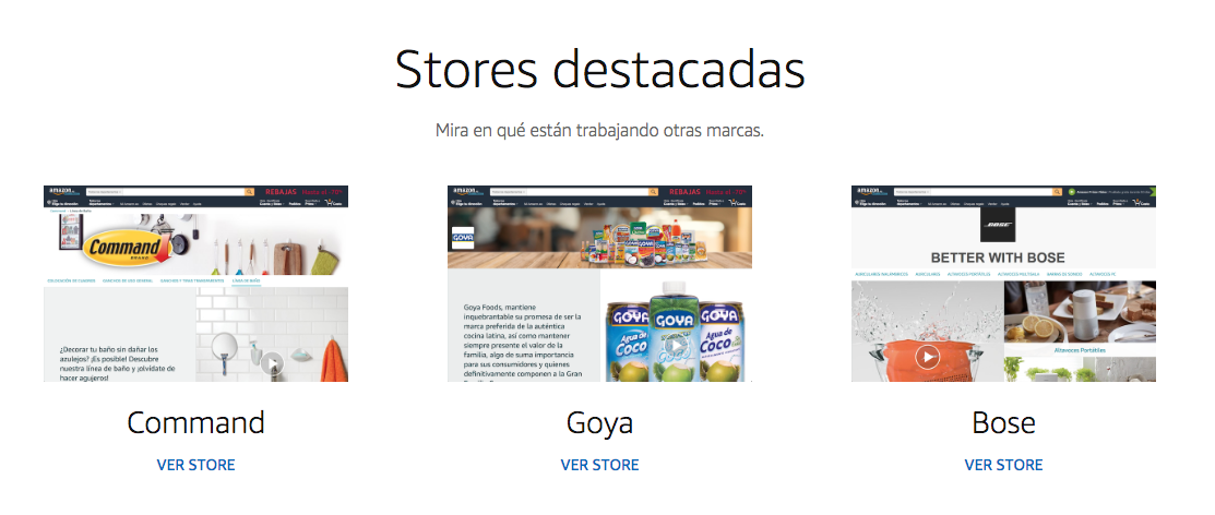 Amazon Advertising - Stores