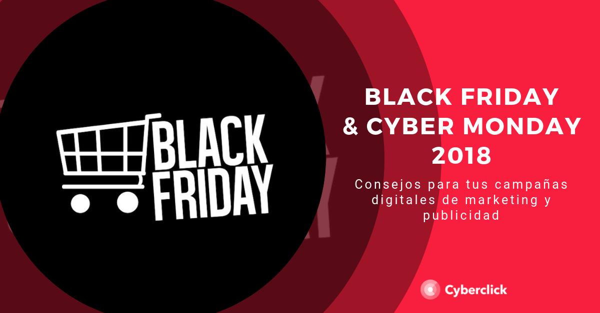 Black Friday y Cyber Monday claves de marketing online para vender mas