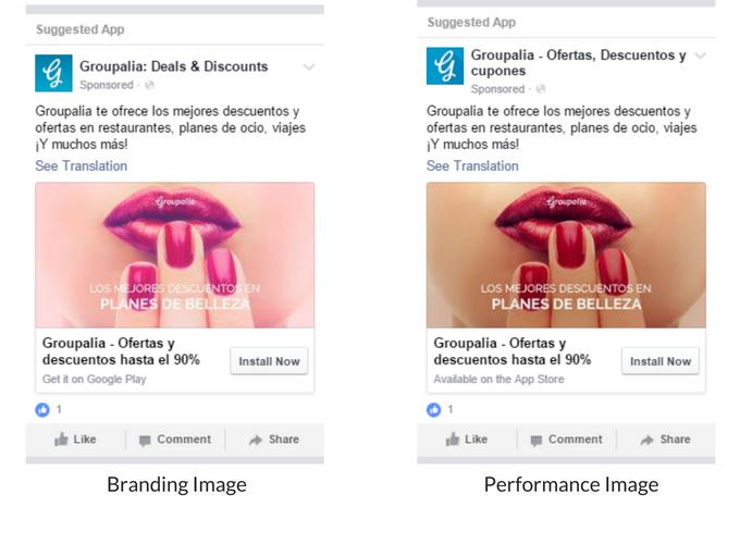 Que es la publicidad en Facebook beneficios y ejemplos - Caso de exito Groupalia