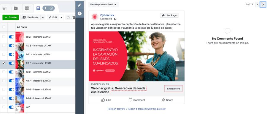 Campaña de publicidad en facebook paso a paso