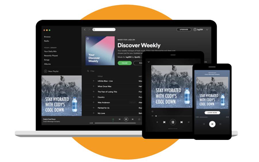 Publicidad en Spotify - Audio