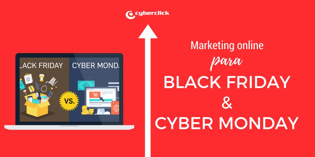 Claves de marketing online para vender en Black Friday y Cyber Monday