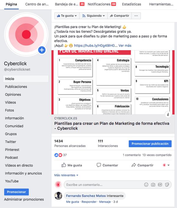 Cómo crear tu página de empresa en Facebook paso a paso