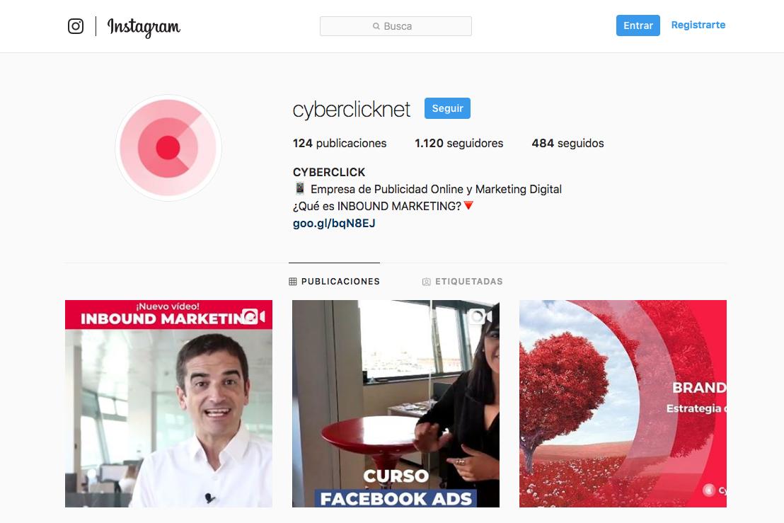 Como crear una cuenta de Instagram - Pasos para personalizarla