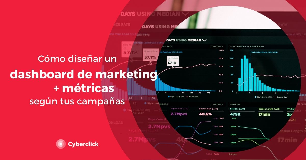Como disenar un dashboard de marketing y metricas ideal segun tus campanas