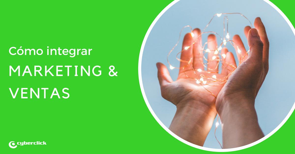 Como integrar las areas de marketing y ventas