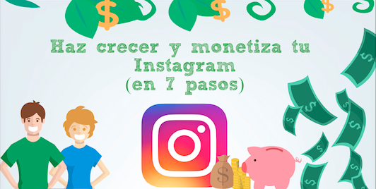Como monetizar tu cuenta de instagram en 7 pasos (2018) - Header