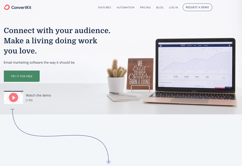 Convertkit - Herramientas de email marketing