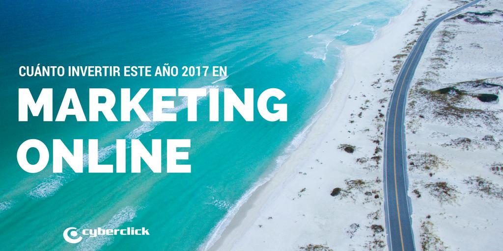 Cuanto deberian invertir las PYMES en marketing online en 2017