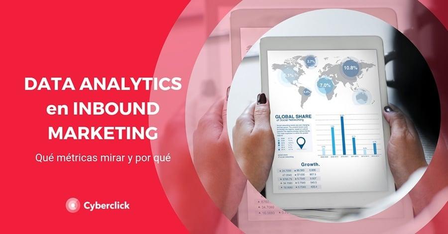 Data analytics para inbound marketing - Que metricas mirar y por que