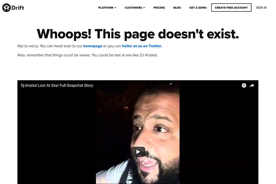 Drift-404-Page