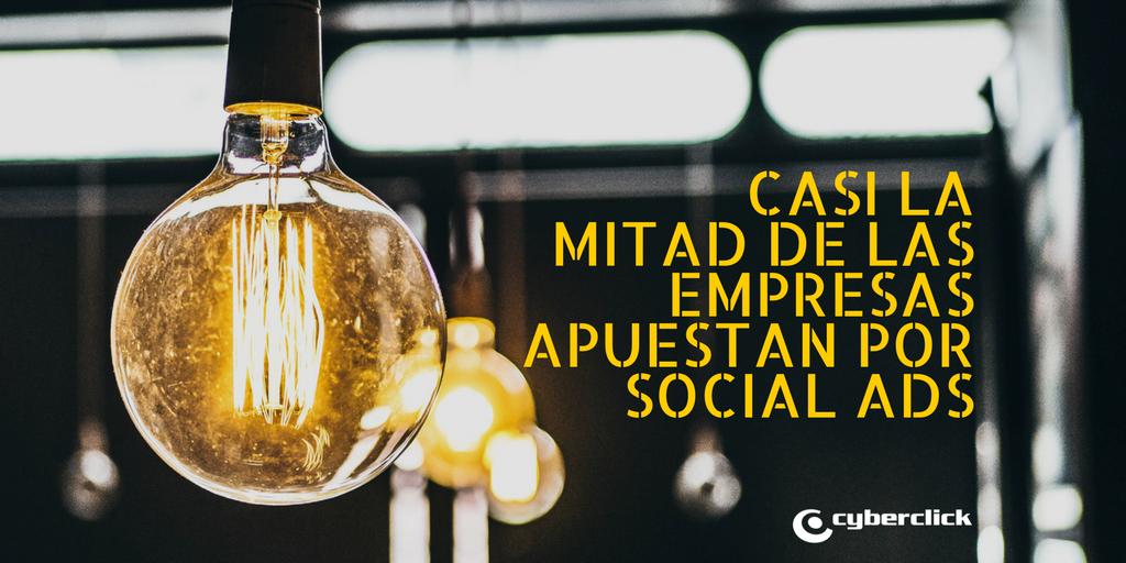 El 44% de las empresas espanolas hace publicidad en redes sociales