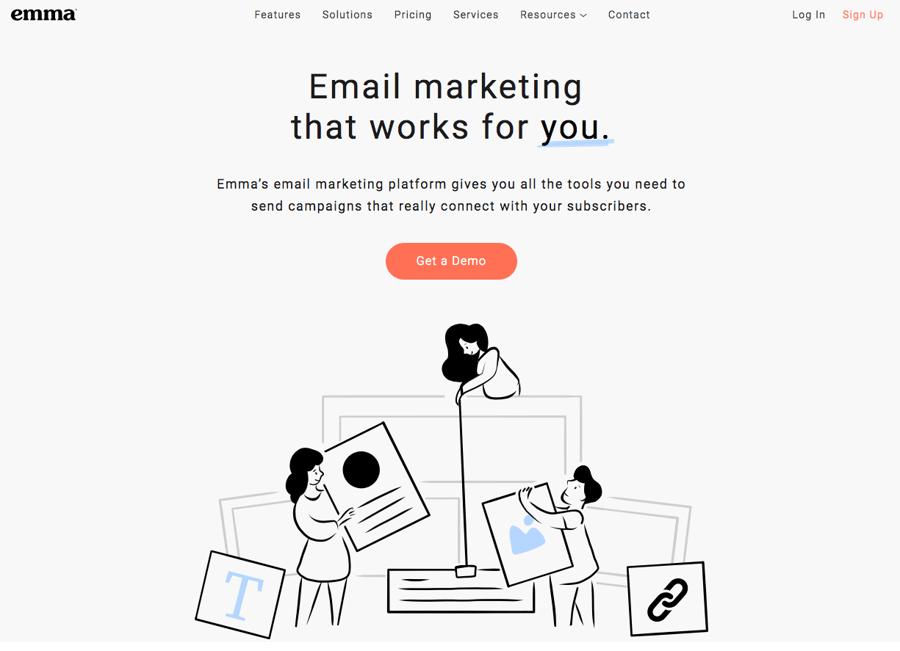 Emma - Herramientas email marketing