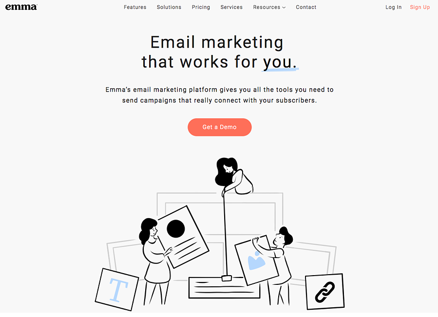 Emma - Herramientas email marketing