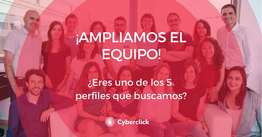 Equipo Cyberclick ofertas laborales