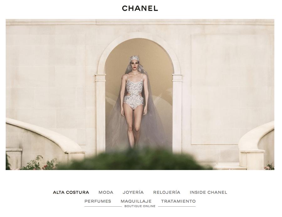 Espacio en blanco diseño web 2019