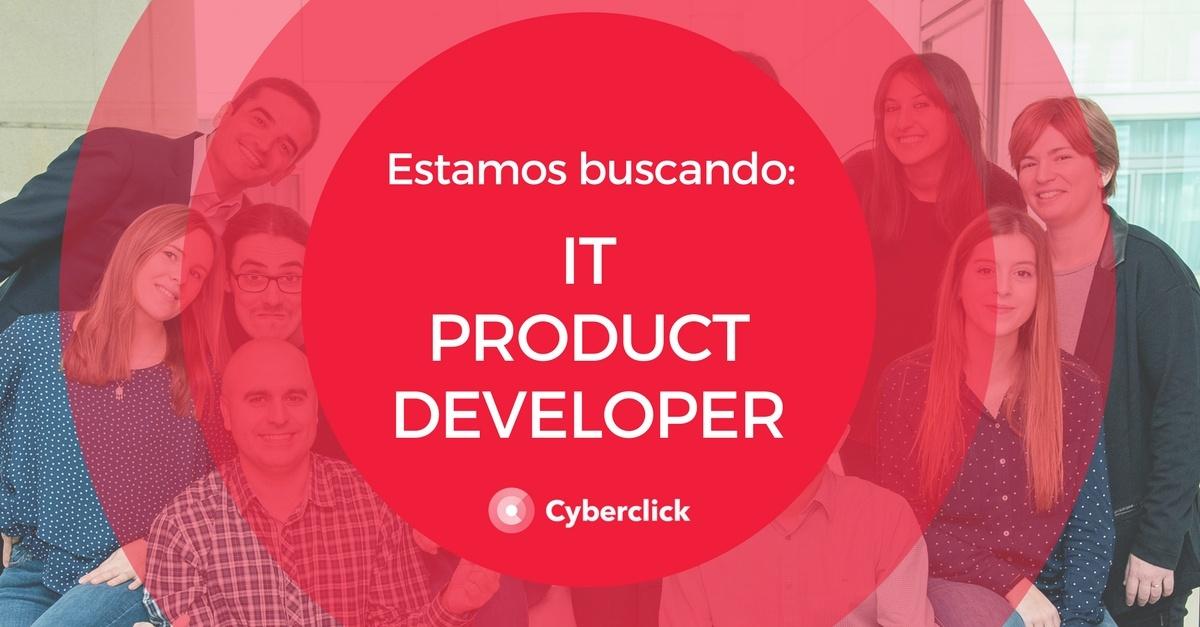 Estamos buscando IT Product Developer