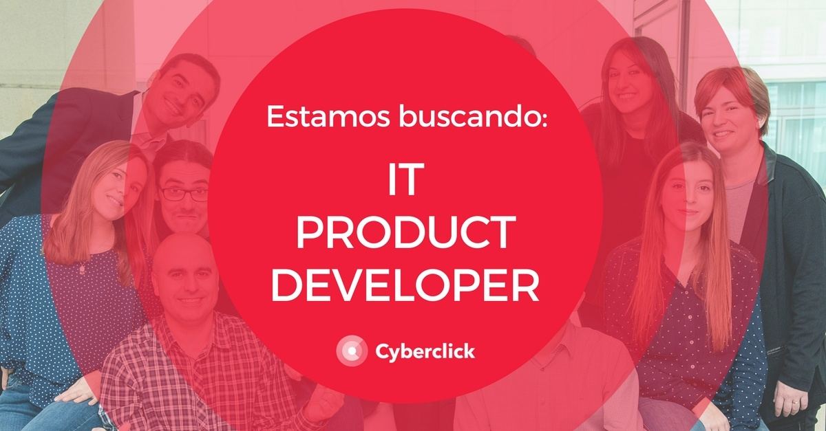 Estamos buscando IT Product Developer
