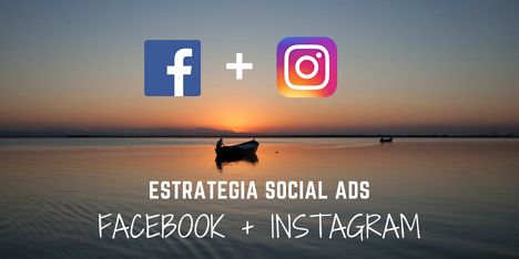 Estrategia de marketing online combinada Facebook Instagram