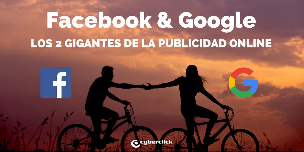 Facebook y Google aglutinarán la inversión en publicidad online