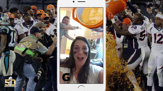 Gatorade Advertising on Snapchat