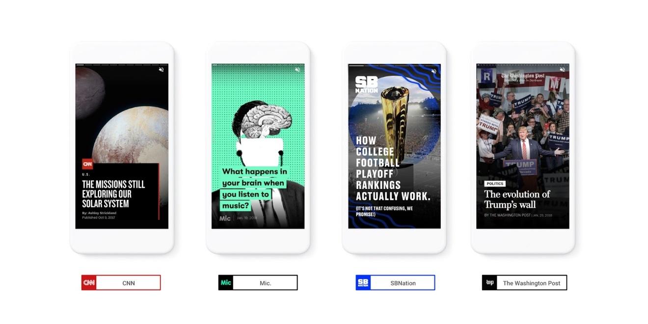 Google vuelve a lanzarse a los medios sociales con AMP Stories