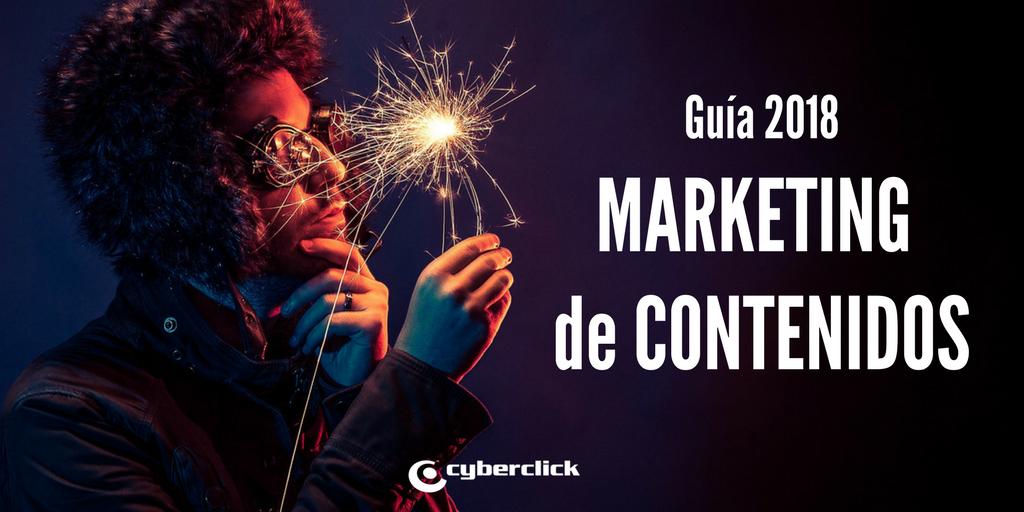 Guiia para tu marketing de contenidos 2018