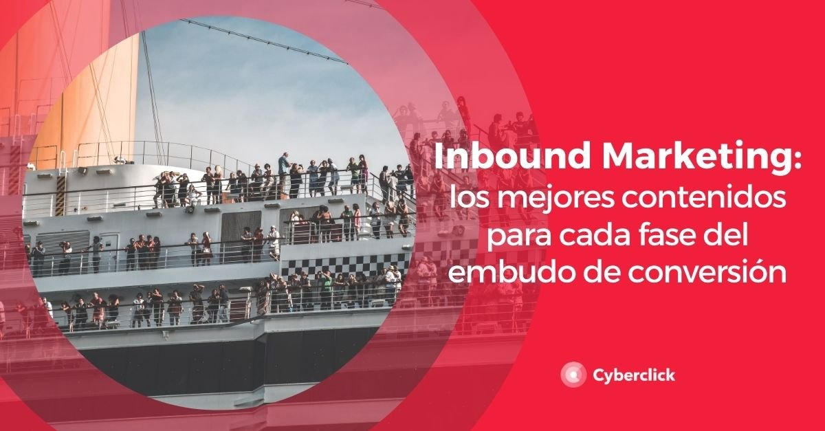 Inbound marketing que contenidos usar en cada fase del embudo de conversion