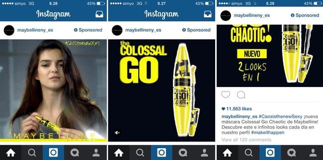 Instagram Ads o publicidad en Instagram ¡3 ejemplos de sus inicios!