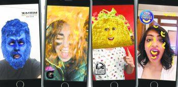 Kraft Advertising on Snapchat