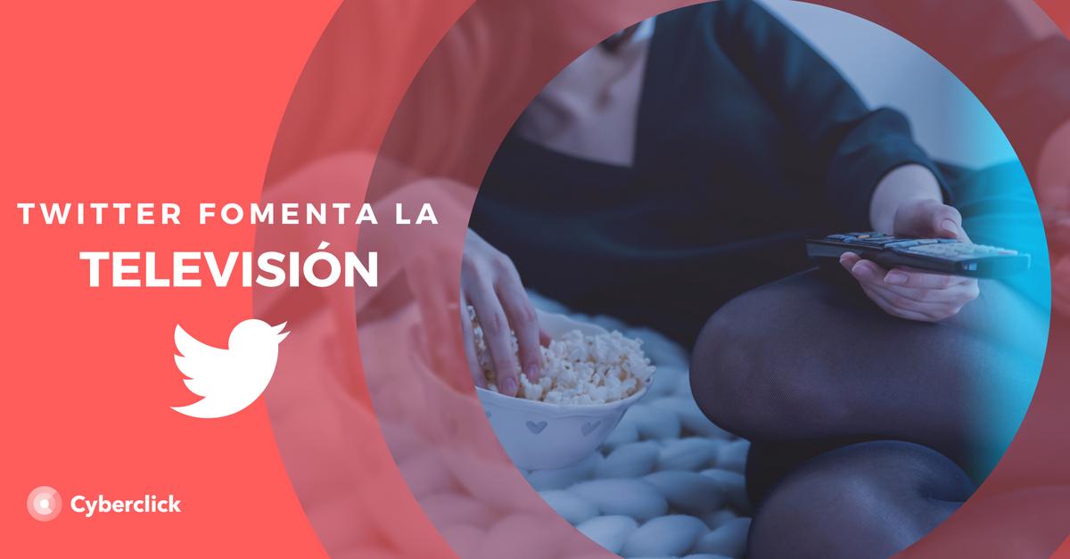 La publicidad en Twitter promueve el consumo de TV