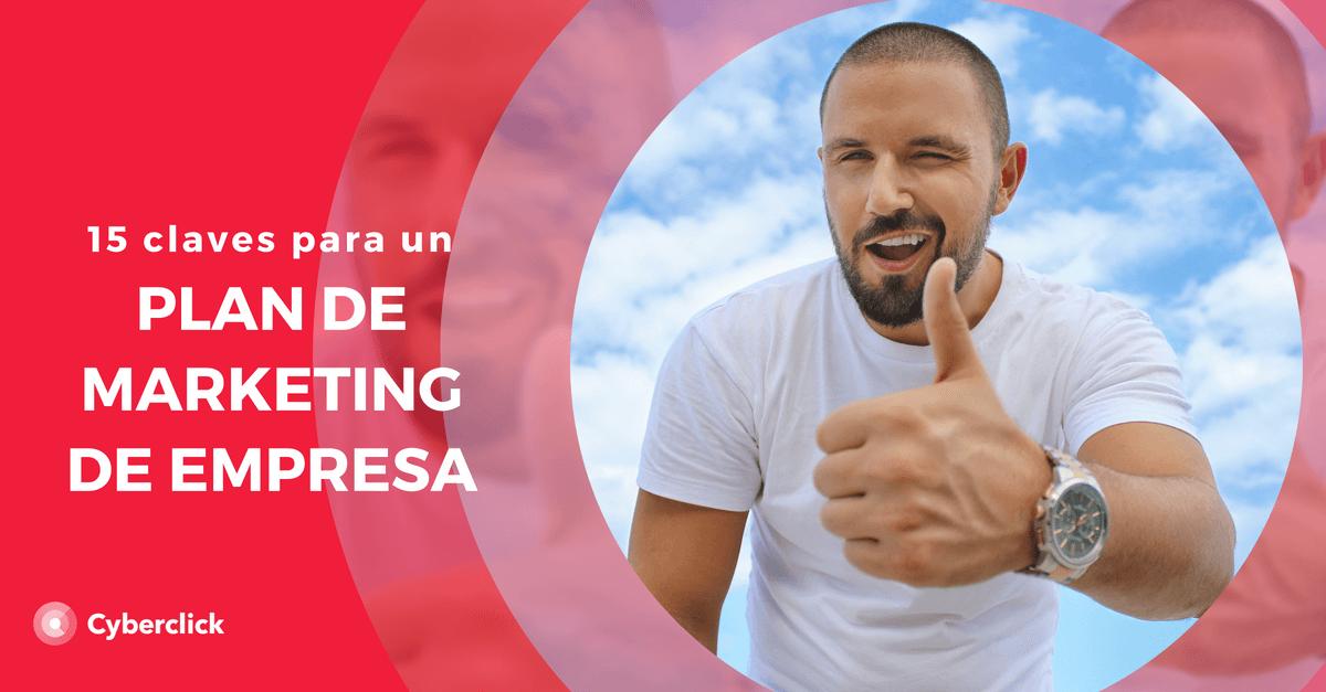 Las 15 claves de un plan de marketing de empresa