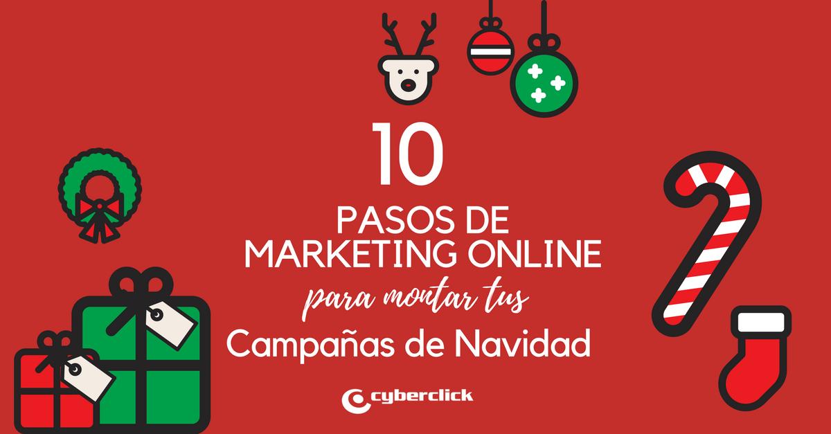Los 10 pasos de marketing online para tus campanas de Navidad