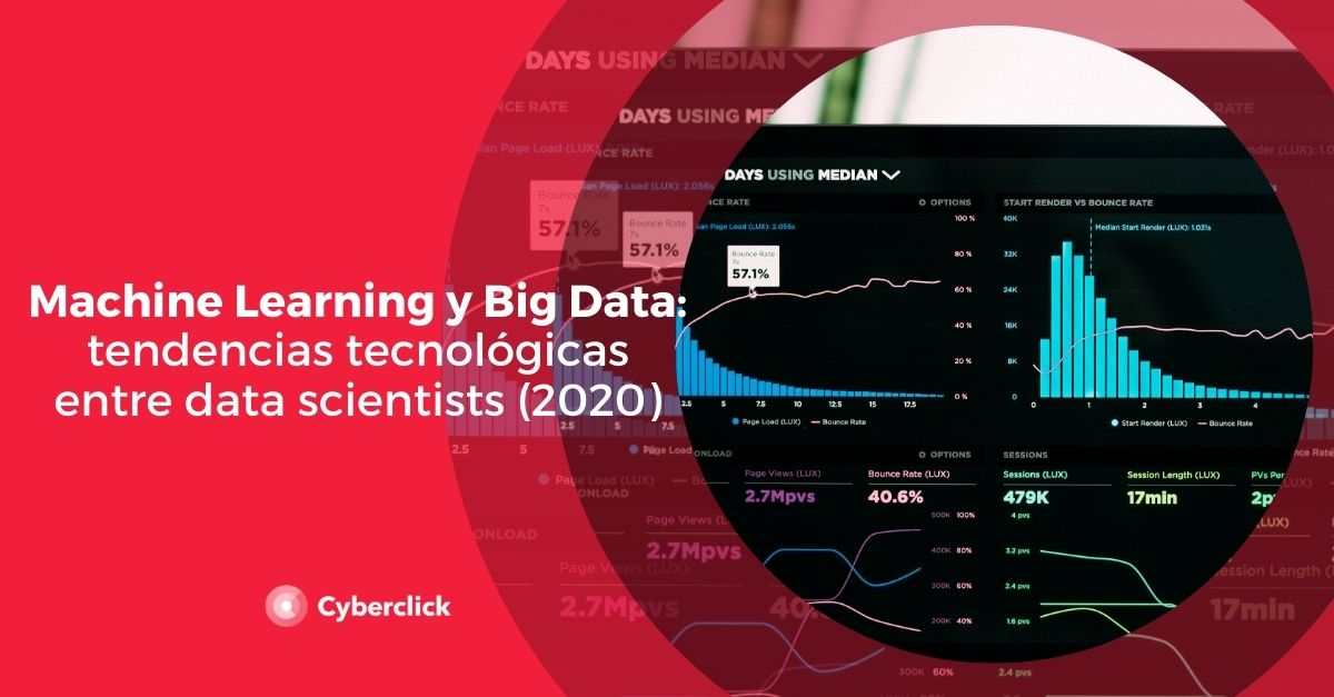 Machine Learning y Big Data tendencias tecnologicas entre data scientists 2020