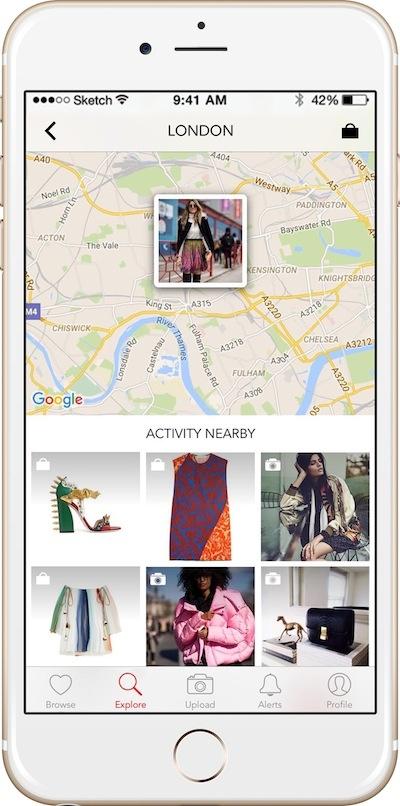 Net-a-Porter Set Nearby campaña internacional de publicidad online en redes sociales 2016
