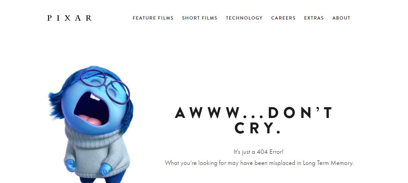 Pixar-404-page-error
