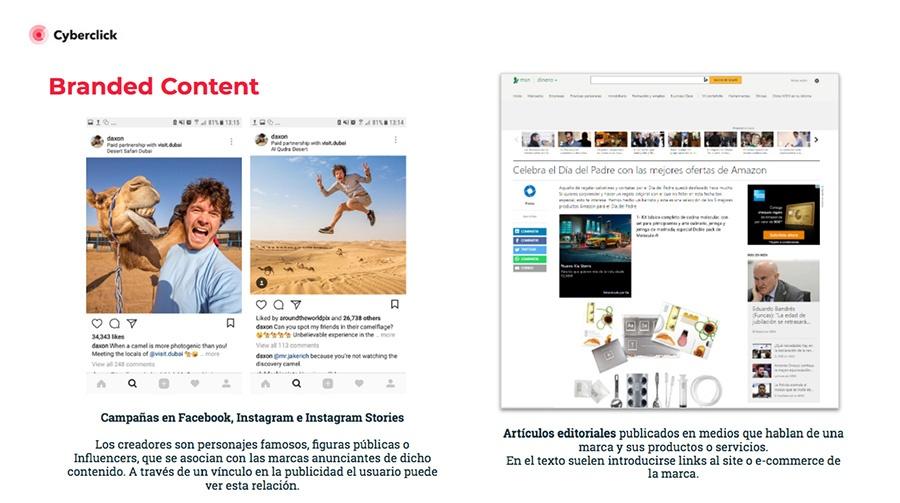 Publicidad Nativa ejemplo