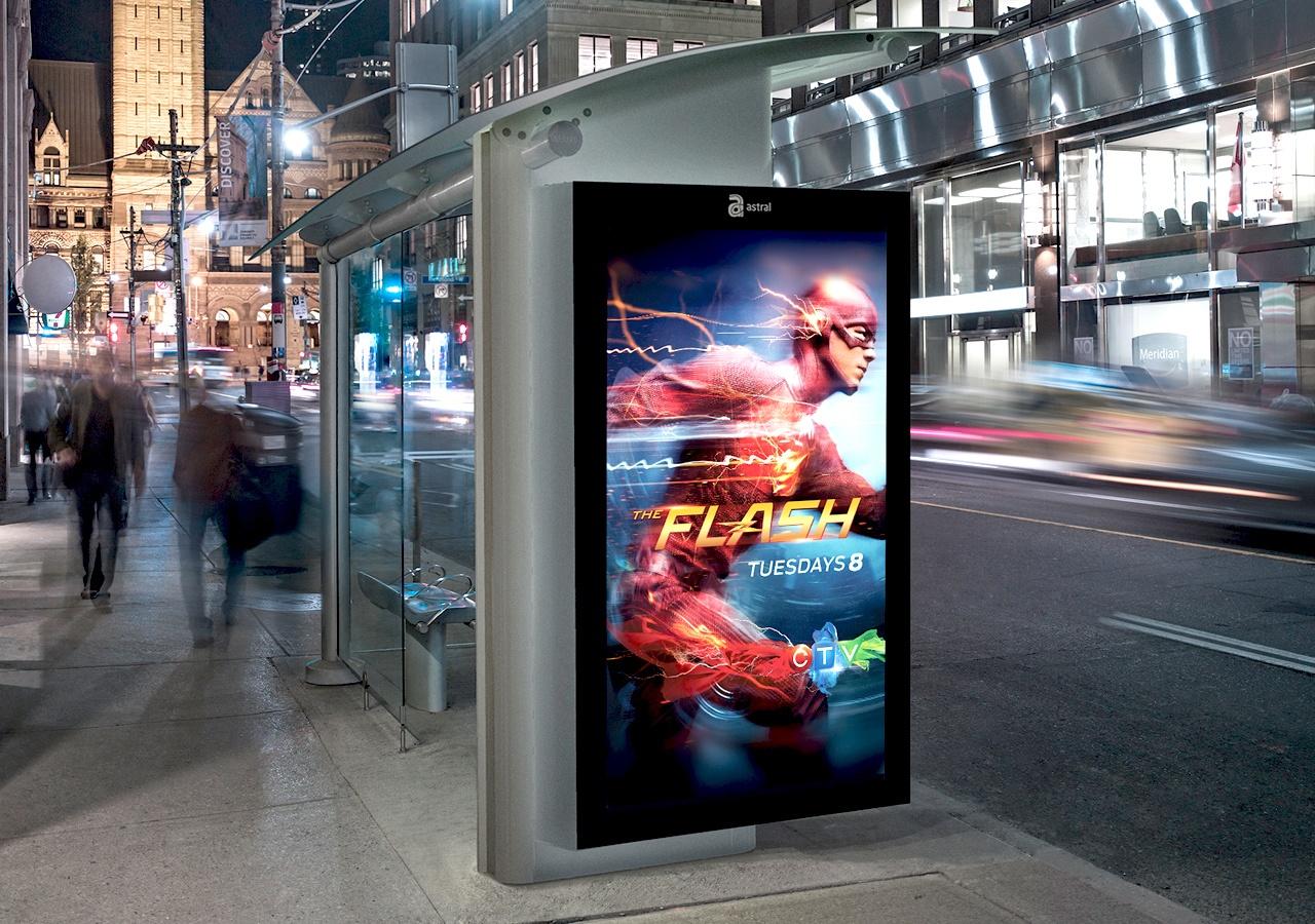 Publicidad digital exterior o digital signage