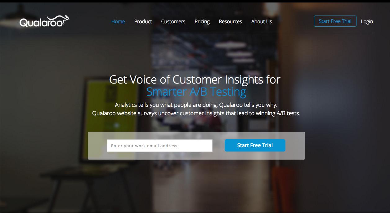 Qualaroo - Marketing online: 8 herramientas que no has de perder de vista en 2016
