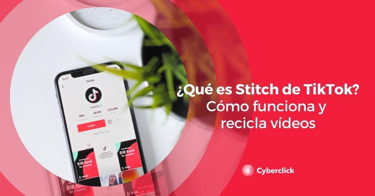 Que es Stitch de TikTok Como funciona y recicla videos