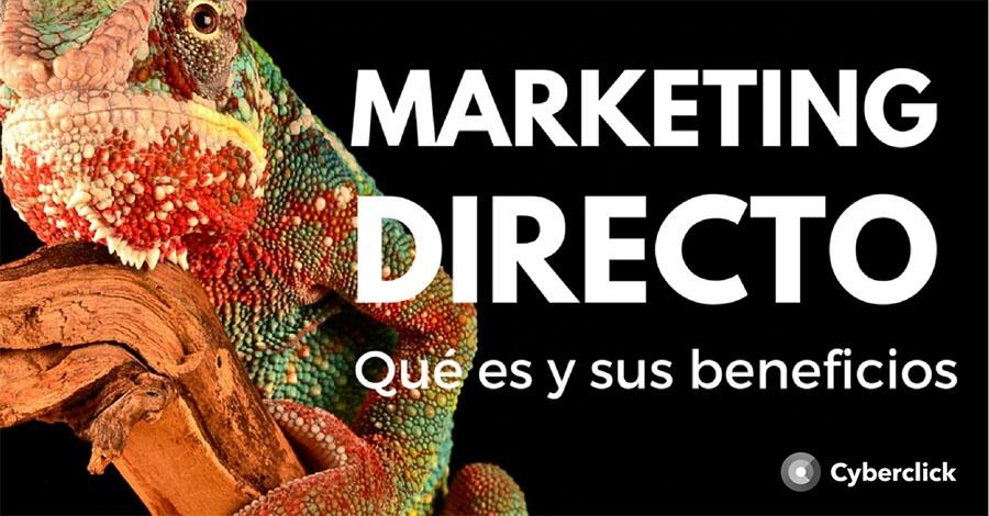 Que es el marketing directo