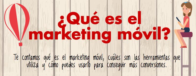 que es el marketing móvil