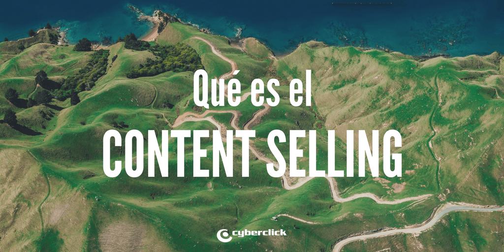 Que es el content selling y en que se diferencia del content marketing