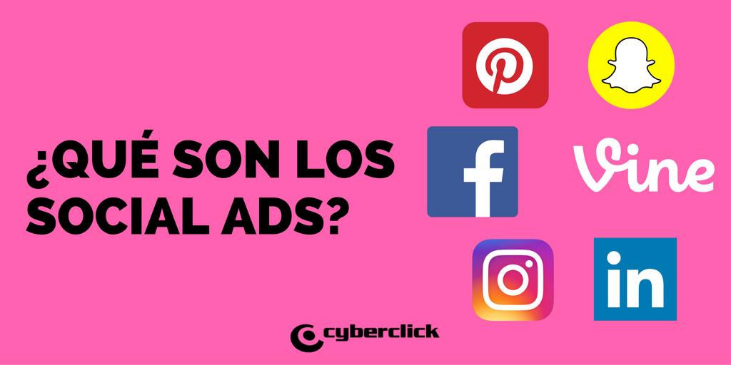 Quee son los Social Ads