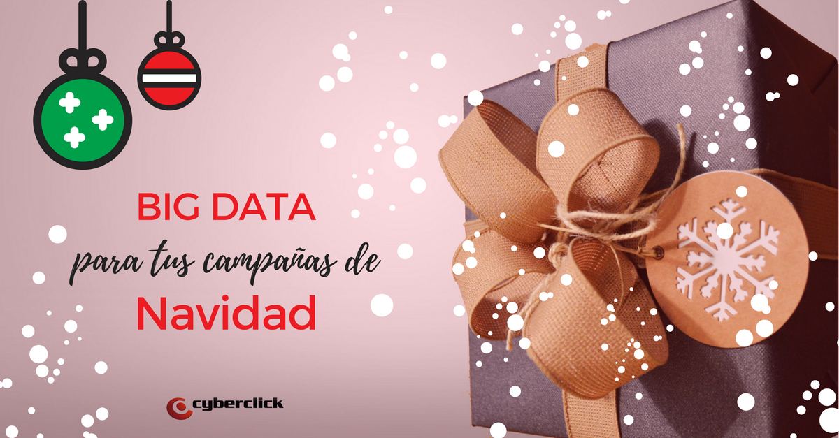 Usa el big data para preparar las campanas de Navidad