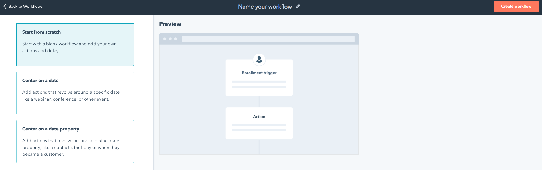 Workflows en Hubspot