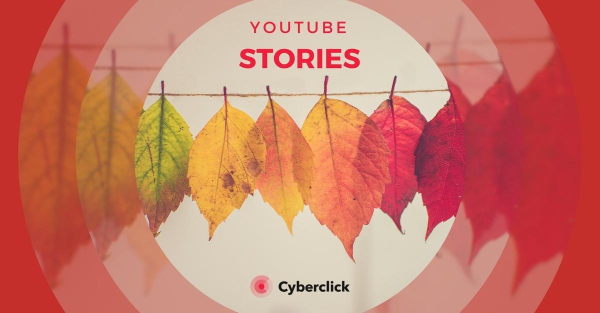 YouTube Stories croma para cambiar los fondos de video